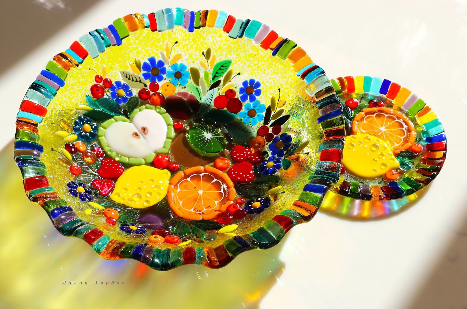 Fusing, glass dish, Delicious life, Plates, Rostov-on-Don,  Фото №1