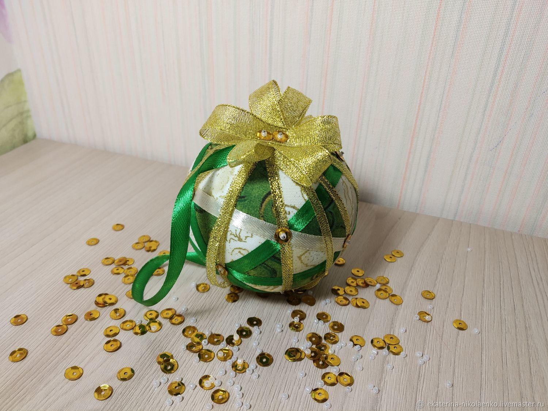 Новогодние шары в технике кинусайга, Новогодние сувениры, Санкт-Петербург,  Фото №1