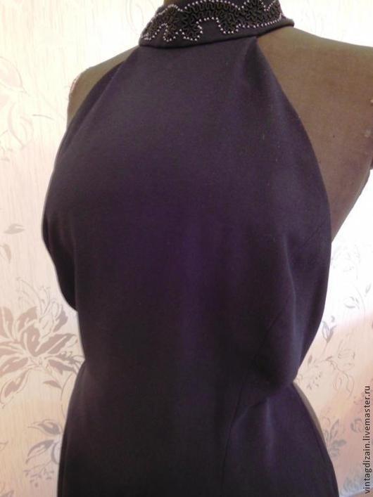 Одежда. Ярмарка Мастеров - ручная работа. Купить Маленькое чёрное платье  вечерний шик!. Handmade. Платье винтажное, платье летнее