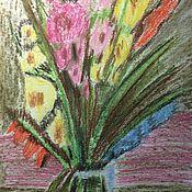 Картины и панно ручной работы. Ярмарка Мастеров - ручная работа Гладиолусы. Handmade.
