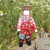 """Народная кукла ручной работы. Ярмарка Мастеров - ручная работа Обереговая кукла """"Спиридон - Солнцеворот"""". Handmade."""