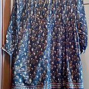 Очень винтажное индийское платье