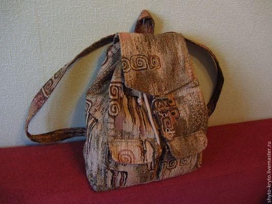 Рюкзаки ручной работы. Ярмарка Мастеров - ручная работа. Купить Рюкзак походный. Handmade. Гобелен, поход, прогулка, гобелен, текстиль