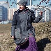 """Одежда ручной работы. Ярмарка Мастеров - ручная работа Пальто-трансформер в стиле """"бохо-шик"""" зима/демисезон. Handmade."""