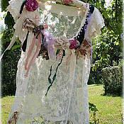 Одежда ручной работы. Ярмарка Мастеров - ручная работа Туника Кружевная. Викторианский стиль.. Handmade.