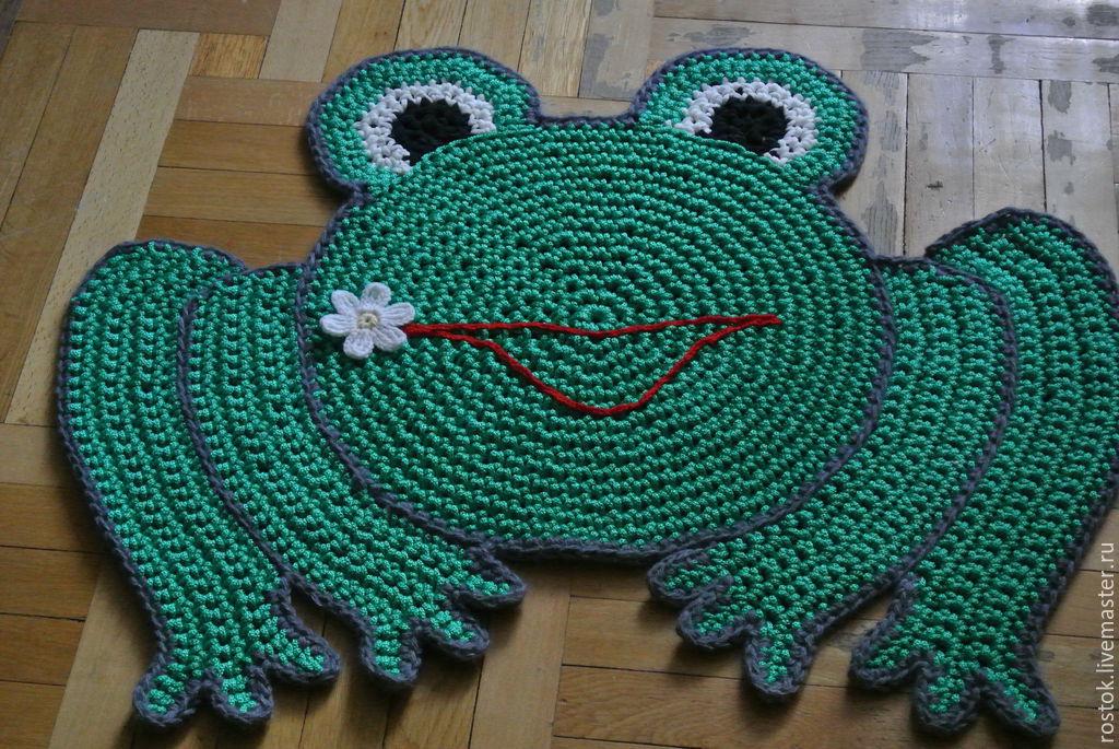 Floor Mat 'frog', Carpets, Permian,  Фото №1