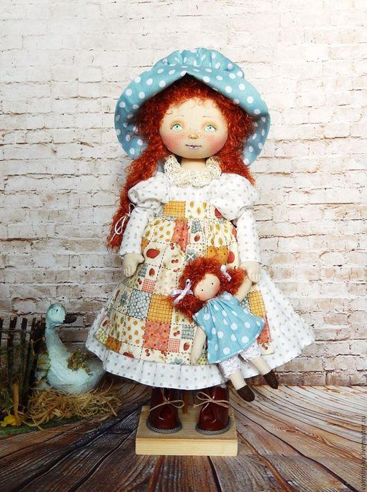 Коллекционные куклы ручной работы. Ярмарка Мастеров - ручная работа. Купить Люси.. Handmade. Комбинированный, рыжий, акриловые краски