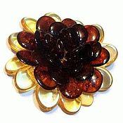 Украшения handmade. Livemaster - original item Amber brooch amber jewelry gift for women, mom sister. Handmade.