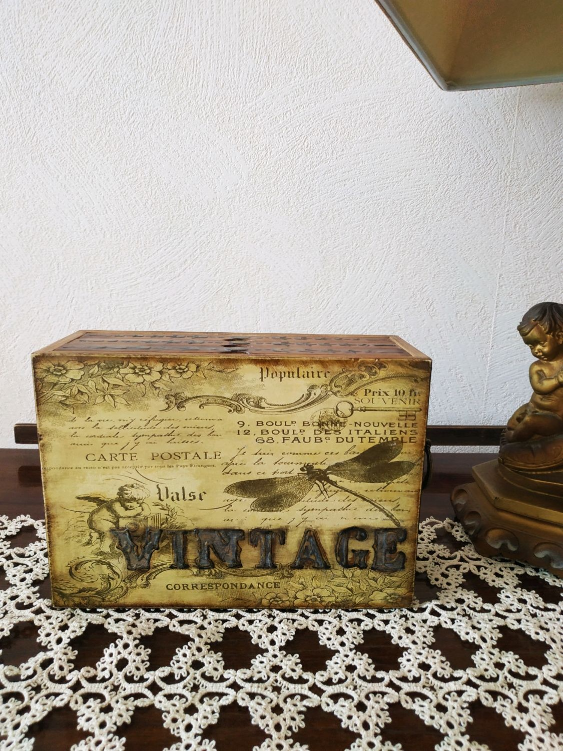 Photo box ' Vintage', Photo albums, Voronezh,  Фото №1