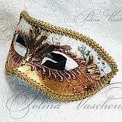 Одежда ручной работы. Ярмарка Мастеров - ручная работа Венецианский Коломбин карнавальная маска. Handmade.