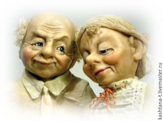 """Коллекционные куклы ручной работы. Ярмарка Мастеров - ручная работа. Купить Куклы из серии """"Мой дорогой, моя дорогая"""". Handmade."""