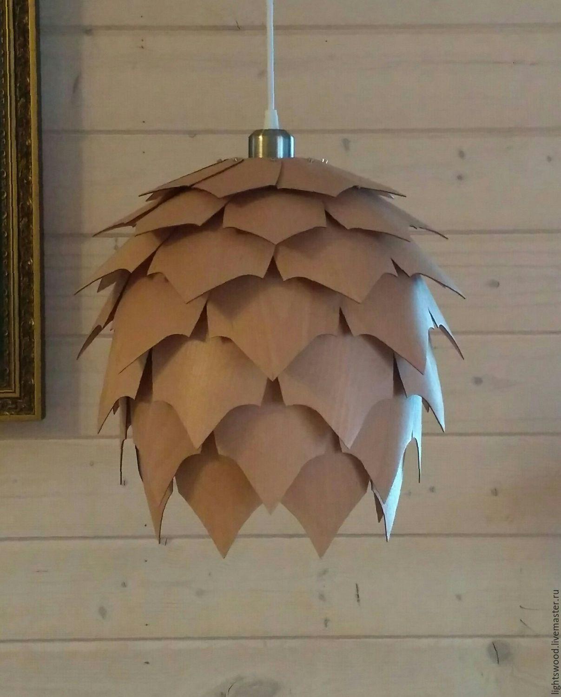 Лампа шишка своими руками 36