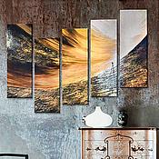 """Картины и панно ручной работы. Ярмарка Мастеров - ручная работа Картина маслом """"Светлая долина"""". Handmade."""