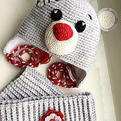 """Работы для детей, ручной работы. Ярмарка Мастеров - ручная работа Комплект для девочки """"Мишка Тедди"""". Handmade."""