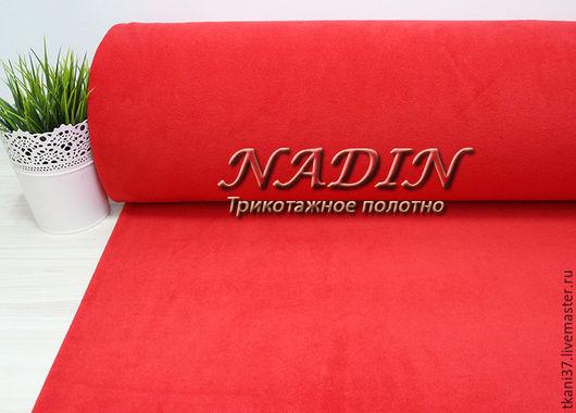 Шитье ручной работы. Ярмарка Мастеров - ручная работа. Купить Поларфлис Красный. Handmade. Комбинированный, красный, флис, шитье, трикотаж