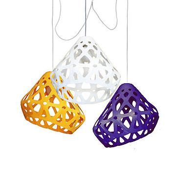 Для дома и интерьера ручной работы. Ярмарка Мастеров - ручная работа ZAHA LIGHT трехцветная трехрожковая люстра 29. Handmade.