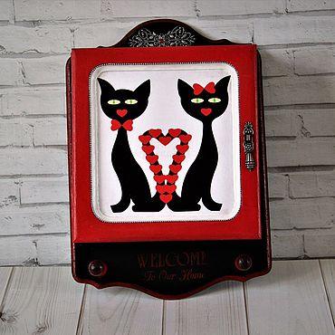 For home and interior handmade. Livemaster - original item the housekeeper: La muuuur.!. Handmade.