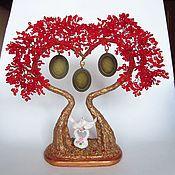 Цветы и флористика ручной работы. Ярмарка Мастеров - ручная работа Дерево любви из бисера. Handmade.