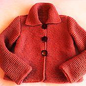 Одежда ручной работы. Ярмарка Мастеров - ручная работа Жакет на осень. Handmade.
