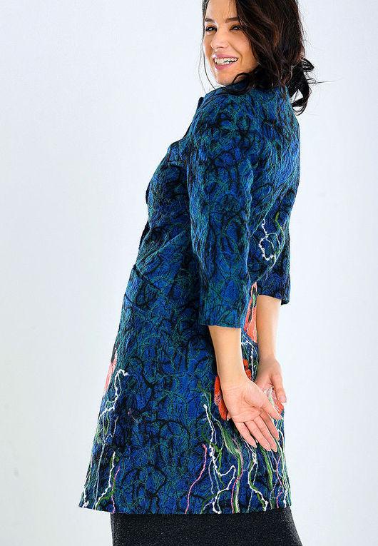 Верхняя одежда ручной работы. Ярмарка Мастеров - ручная работа. Купить ПС (2) 04. Handmade. Цветочный, стильные вещи