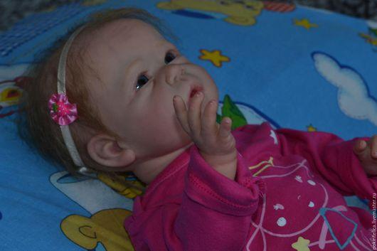 Куклы-младенцы и reborn ручной работы. Ярмарка Мастеров - ручная работа. Купить Кукла реборн Anna. Handmade. Розовый