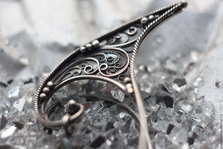 Kaffy 'Elven ears', Cuff Earrings, Moscow,  Фото №1