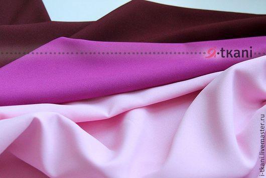 Габардин светло-розовый, маджента, бордовый.В наличии 26 цветов!!! Производство: Китай FUHUA (производится на экспорт для Англии и Японии).
