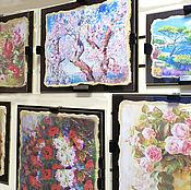Для дома и интерьера ручной работы. Ярмарка Мастеров - ручная работа Фрески-картины для интерьера и подарка. Handmade.