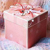 """Коробочка для подарка """"Звездочка"""""""