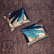 Для дома и интерьера ручной работы. Ярмарка Мастеров - ручная работа Подушки (цена за пару) (ручная работа, единственный экземпляр).. Handmade.