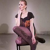 """Обувь ручной работы. Ярмарка Мастеров - ручная работа Валяные ботфорты """"Черный шоколад"""". Handmade."""