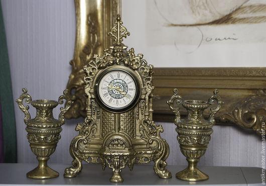 Реставрация. Ярмарка Мастеров - ручная работа. Купить Часы каминные Людовик ХIV антикварные бронза стиль. Handmade. Людовик хiv