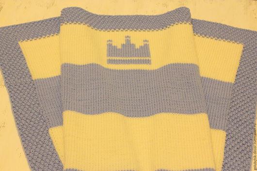 Пледы и одеяла ручной работы. Ярмарка Мастеров - ручная работа. Купить Детский плед Маленький Принц. Handmade. Голубой