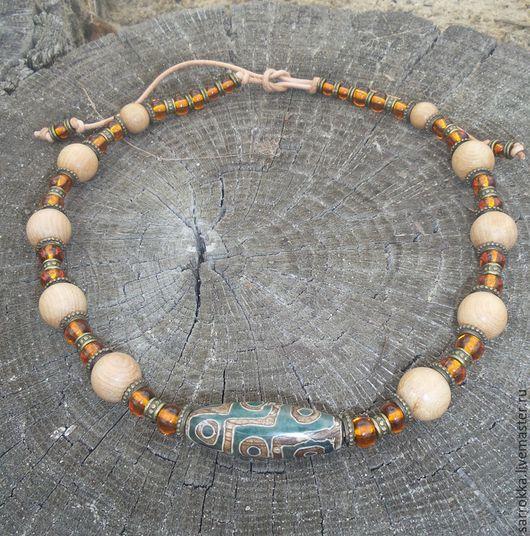 """Колье, бусы ручной работы. Ярмарка Мастеров - ручная работа. Купить Колье """"Солнечный Тибет"""". Handmade. Красивое украшение"""