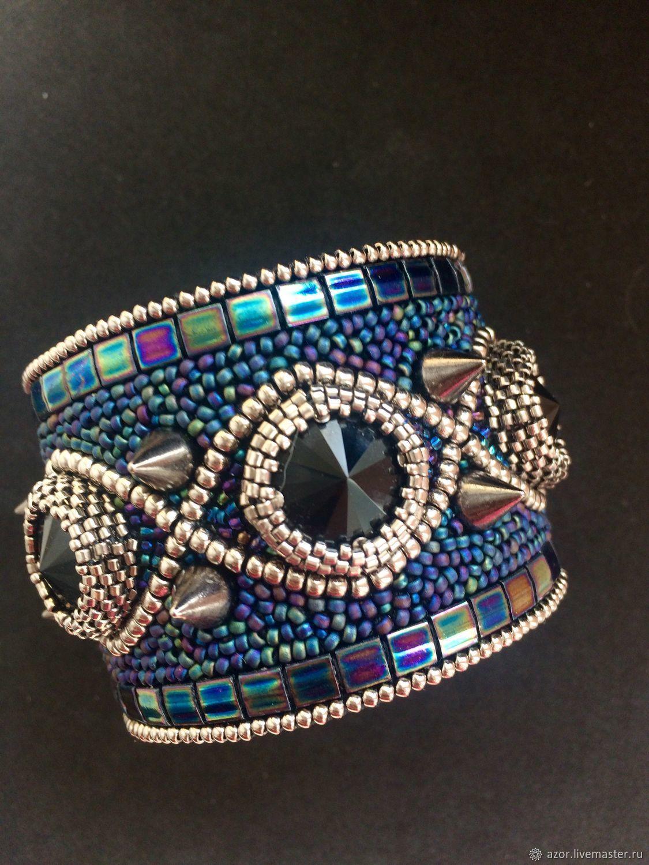 Bracelet BR-83 ' Charm of the night', Bead bracelet, Kazan,  Фото №1