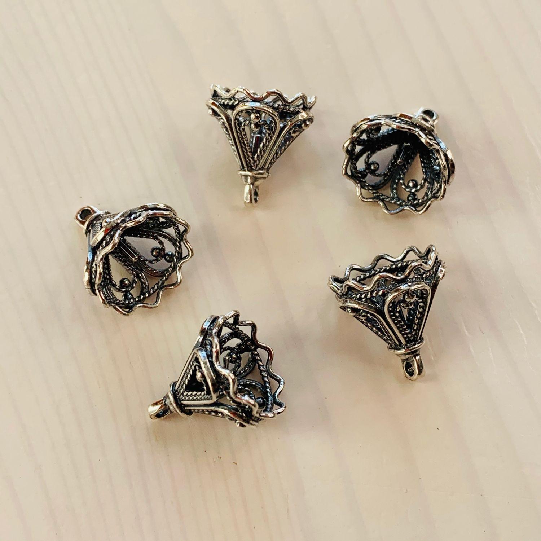 @4002 Pendant silver plating, pin, Pendants, Privolzhsk,  Фото №1