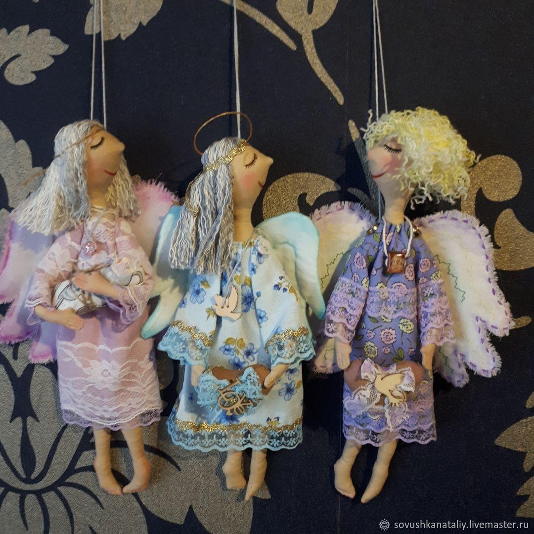 Ангел женского счастья, Куклы Тильда, Касли,  Фото №1