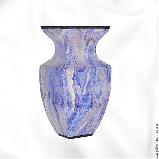 """Вазы ручной работы. Ярмарка Мастеров - ручная работа. Купить Ваза """" Цветной дождь"""". Handmade. Фиолетовый, подарок"""
