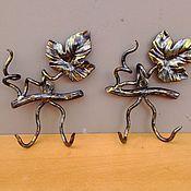 Для дома и интерьера ручной работы. Ярмарка Мастеров - ручная работа крючочки. Handmade.