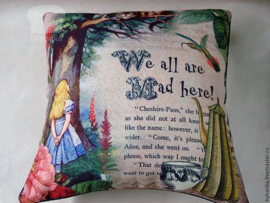 Текстиль, ковры ручной работы. Ярмарка Мастеров - ручная работа. Купить Наволочки из мешковины и подушки. Handmade. Необычный подарок, наволочка