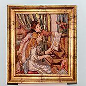 Винтаж handmade. Livemaster - original item Vintage tapestry handmade( embroidery) . Germany. Handmade.