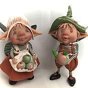 Куклы и игрушки ручной работы. Ярмарка Мастеров - ручная работа Яблочки. Handmade.