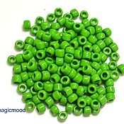 Материалы для творчества ручной работы. Ярмарка Мастеров - ручная работа 10гр 8/0 Бисер Тохо 47 зеленая мята японский бисер TOHO непрозрачный. Handmade.