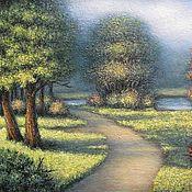 Картина Прогулка в парке