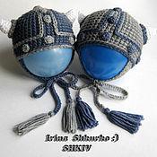 """Работы для детей, ручной работы. Ярмарка Мастеров - ручная работа """"Викинги"""", 2 шапочки для новорождённых.. Handmade."""