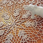 """Для дома и интерьера ручной работы. Ярмарка Мастеров - ручная работа Салфеточка """"Ретро"""". Handmade."""