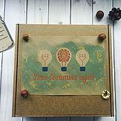 Gift Boxes handmade. Livemaster - original item Set for rich ideas.. Handmade.
