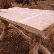 Для дома и интерьера ручной работы. Ярмарка Мастеров - ручная работа дубовый стол. Handmade.