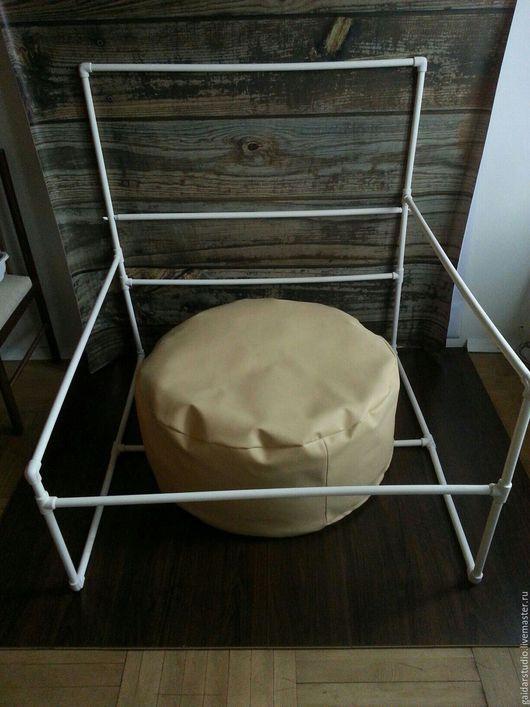Для новорожденных, ручной работы. Ярмарка Мастеров - ручная работа. Купить Подушка для фотосессий новорожденных. Бин бэг.. Handmade. Бежевый