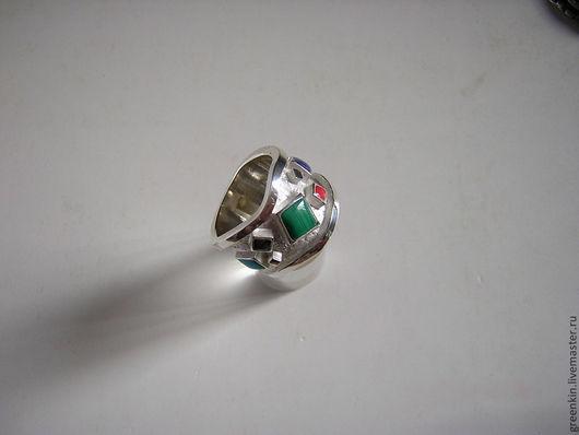 """Кольца ручной работы. Ярмарка Мастеров - ручная работа. Купить кольцо """"Stell"""". Handmade. Серебряный, кольцо ручной работы, кубики"""